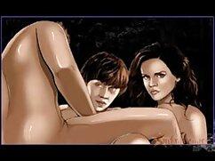 لغزنده دختر روغن لذت بردن از به نفوذ سکس دوبله به قفسه سینه
